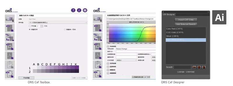 CGS ORIS CxF Toolbox和CxF Designer专色色彩管理cgs_oris_cxf_tool_专色色彩管理_002