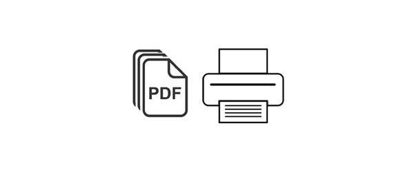 使用Adobe Acrobat中的PDF打印机生成PDF文件