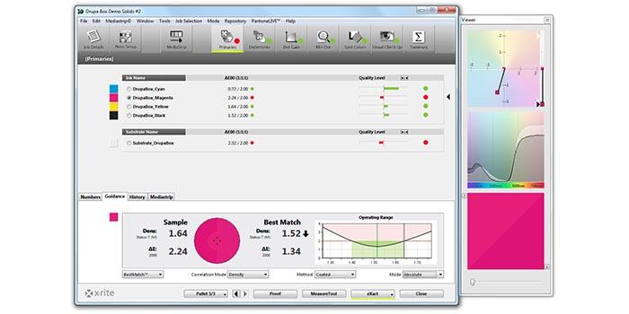 爱色丽新版eXact+ColorCert为专业人执行印刷G7或PSO标准