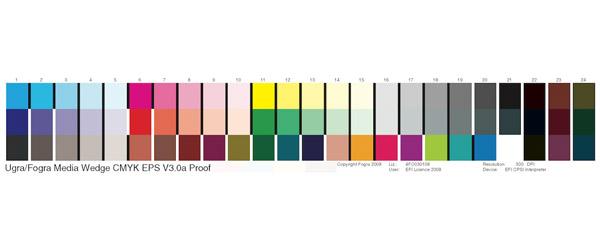 色带UGRA/FOGRA Media Wedge V3 AED和ED版本区别