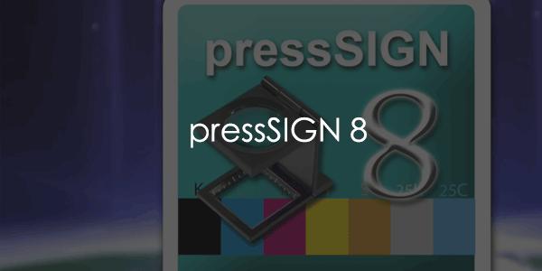 pressSIGN支持的测量设备列表