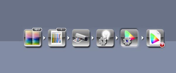 i1Profiler中如何像ProfileMaker中的做荧光增白剂补偿?