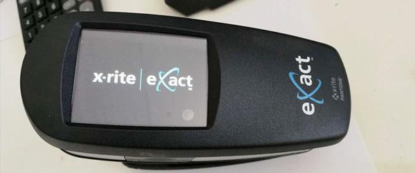 爱色丽eXact密度仪触摸屏失灵故障