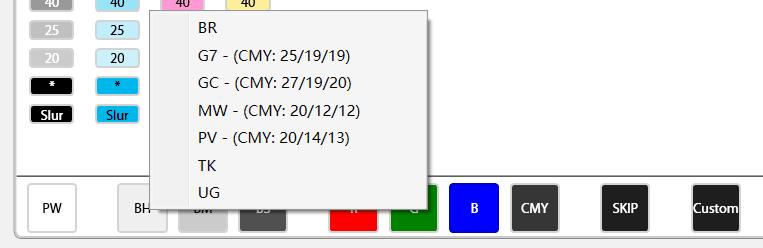 MeasureColor中支持的灰平衡色块标准