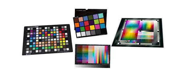 扫描仪和相机色彩管理中标准特性色卡的评估