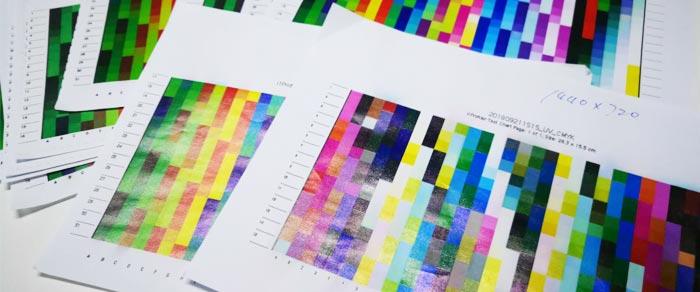 AcroRIP在UV打印机上实现校色