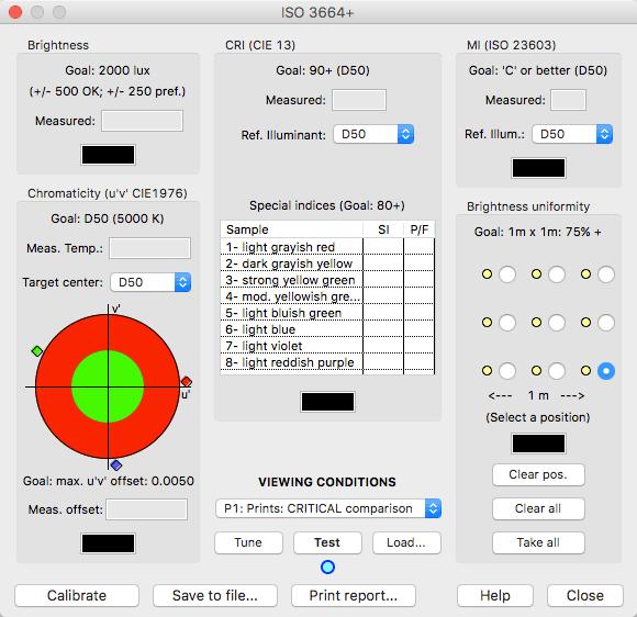 BabelColor测量环境光源,如何评价测量结果?-babelcolor_cta_iso3664_主窗口